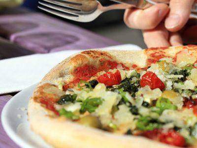 Surdeig pizza