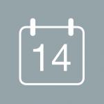 Symbol for åpent kjøp i 14 dager