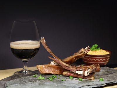 Øl og pinnekjøtt