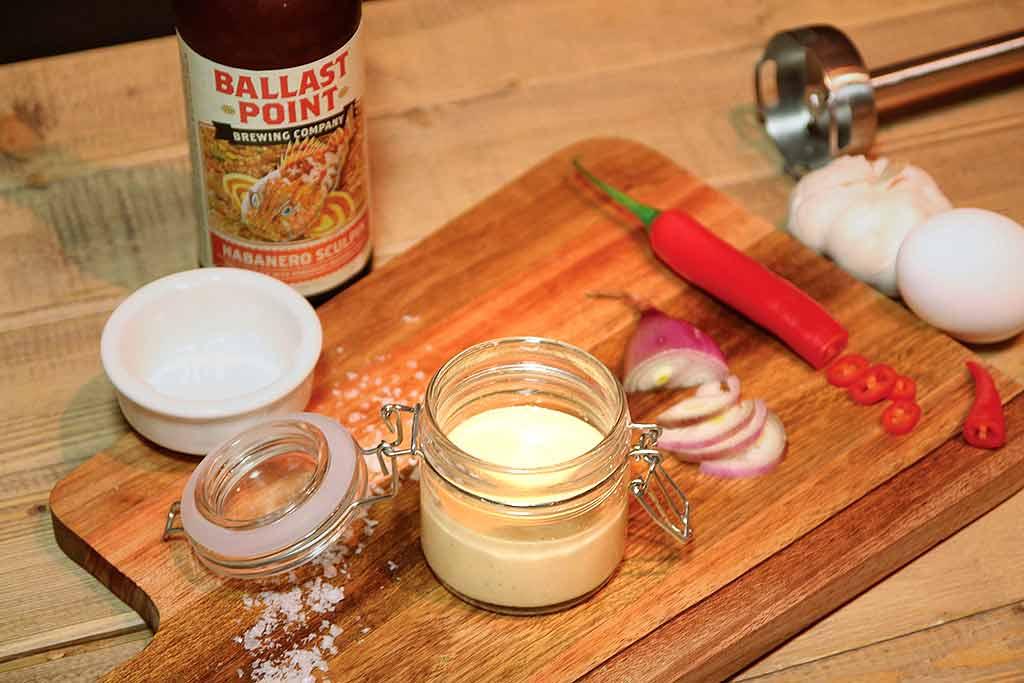 Majones og ingredienser
