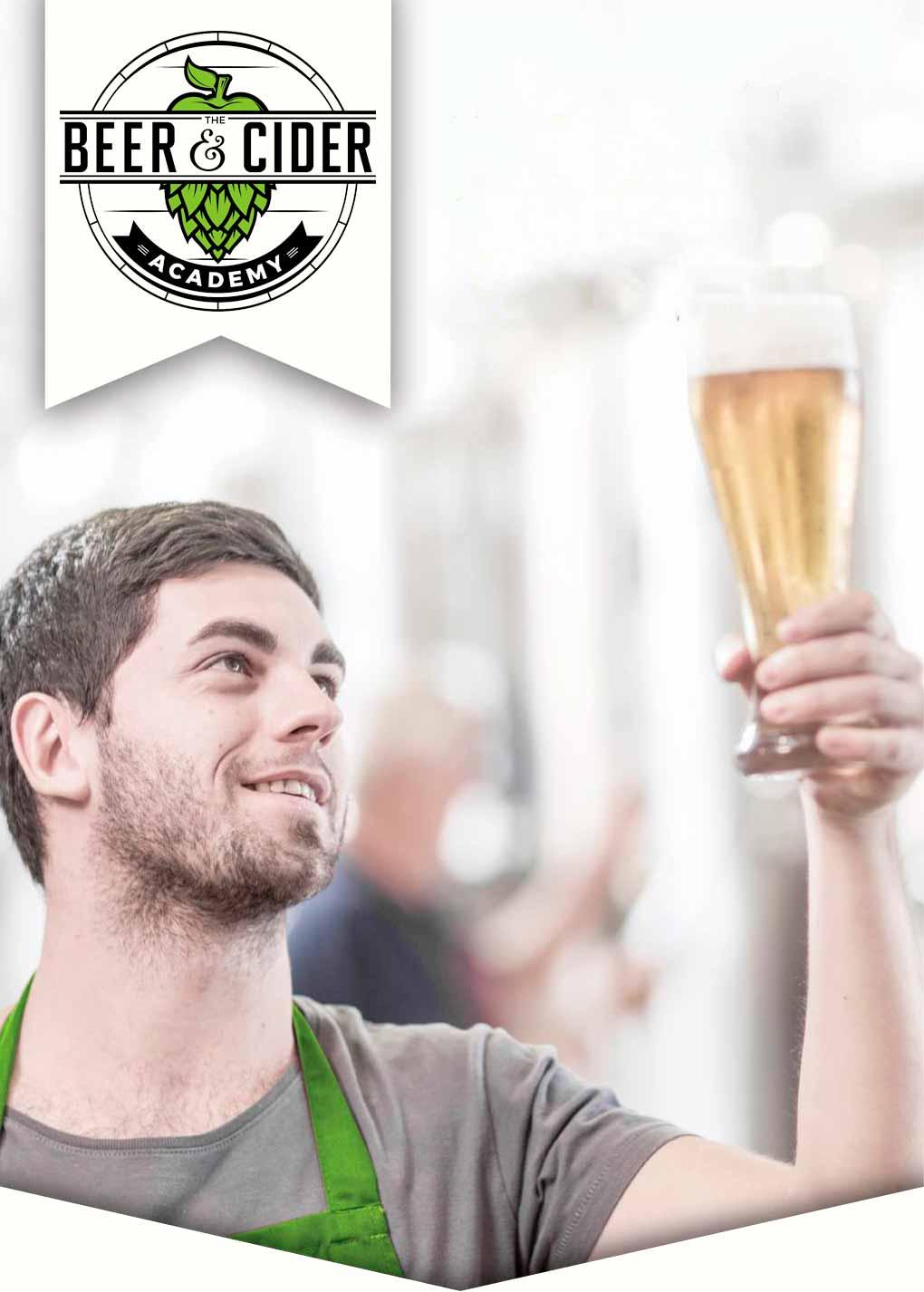 Mann studerer øl
