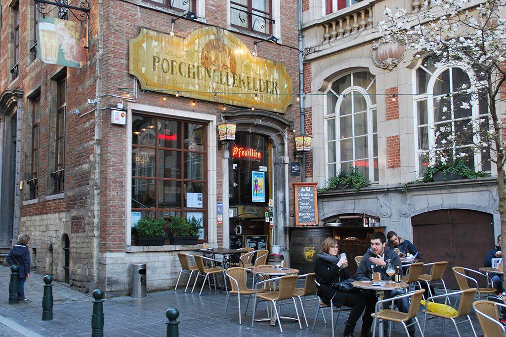 Ølbar i Belgia