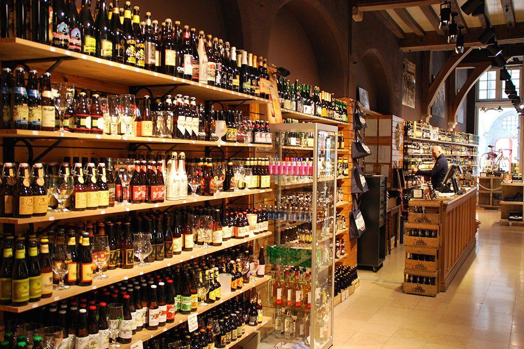 Ølbutikk i Belgia