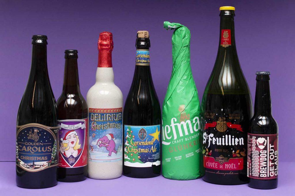 Flasker med de beste ølene i testen
